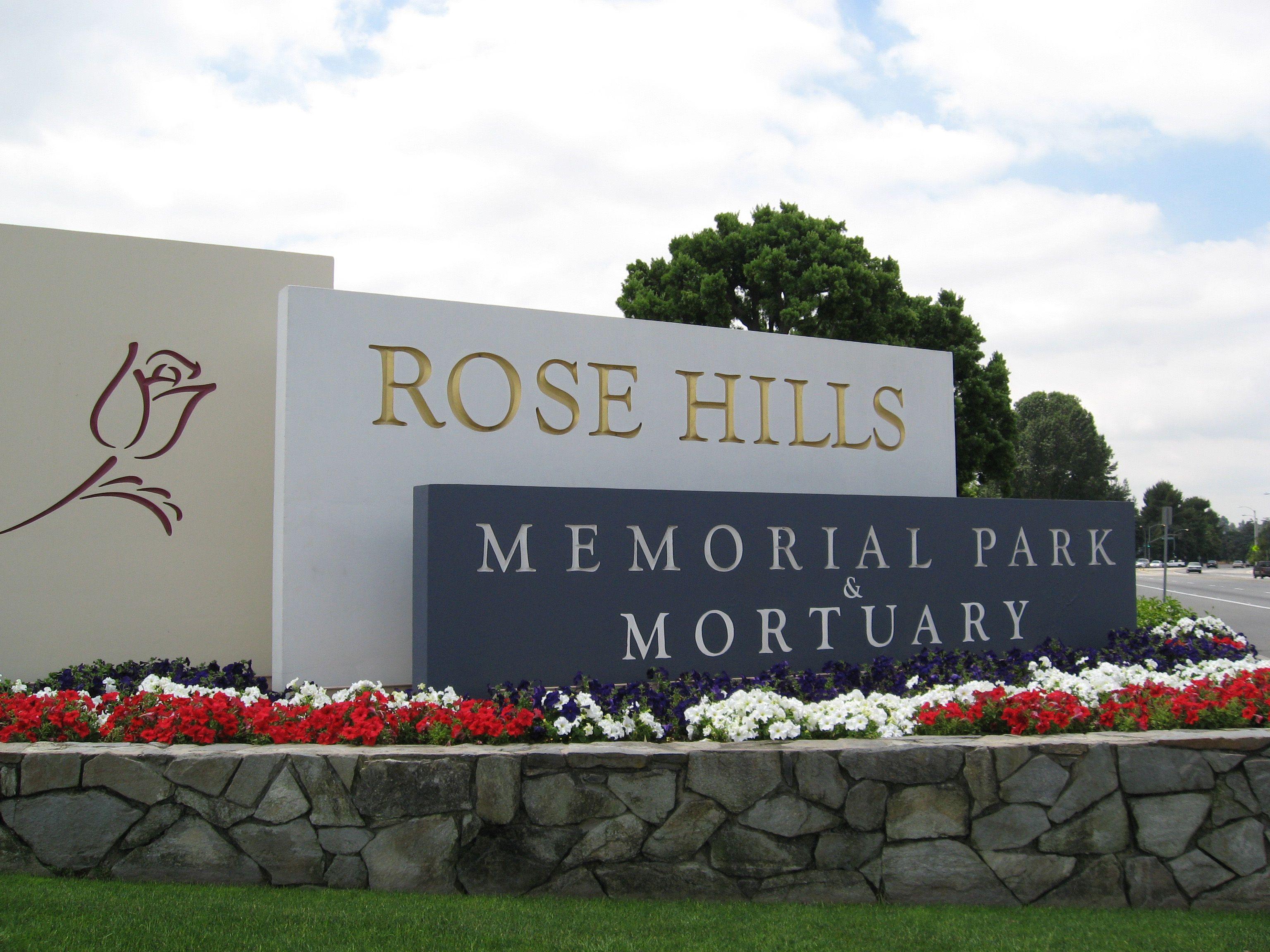 Rose Hills Memorial Park Mortuary Rose Hill Cemetery Rose Hill Memorial Park