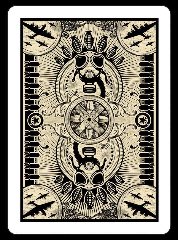Propaganda Playing Cards WA007