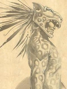 Jaguar Warrior Wallpaper Google Search Miticos Guerrero Azteca