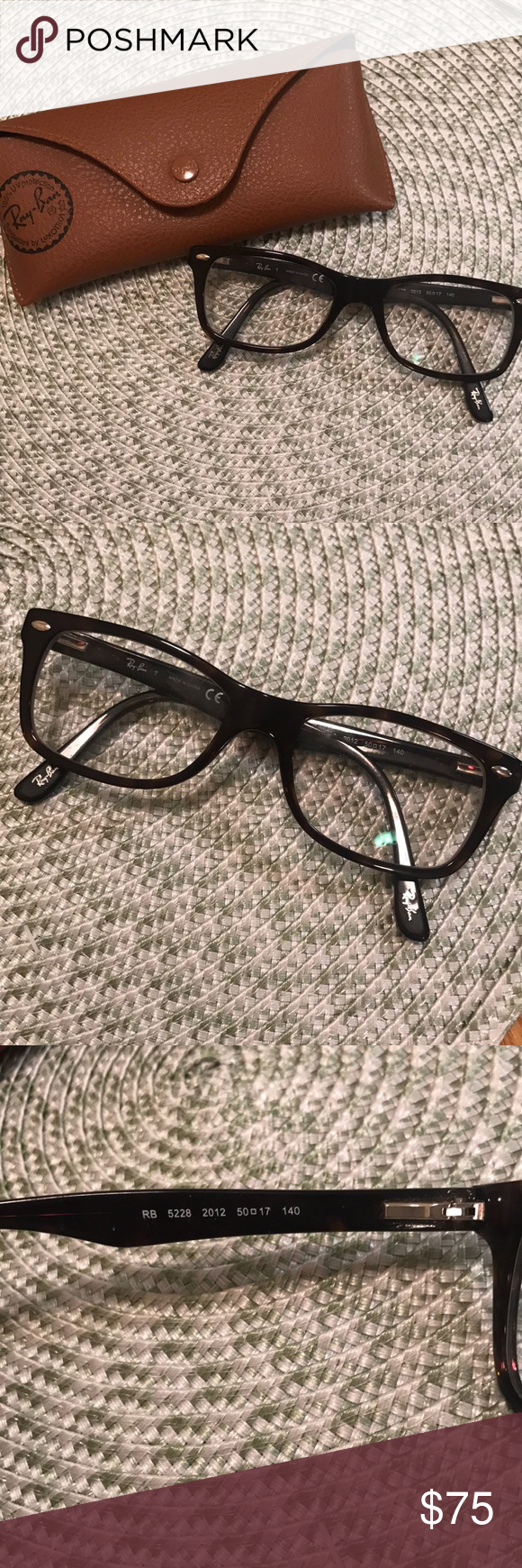 a43b9b222c9 Ray Ban Eyeglasses Frames Excellent used condition