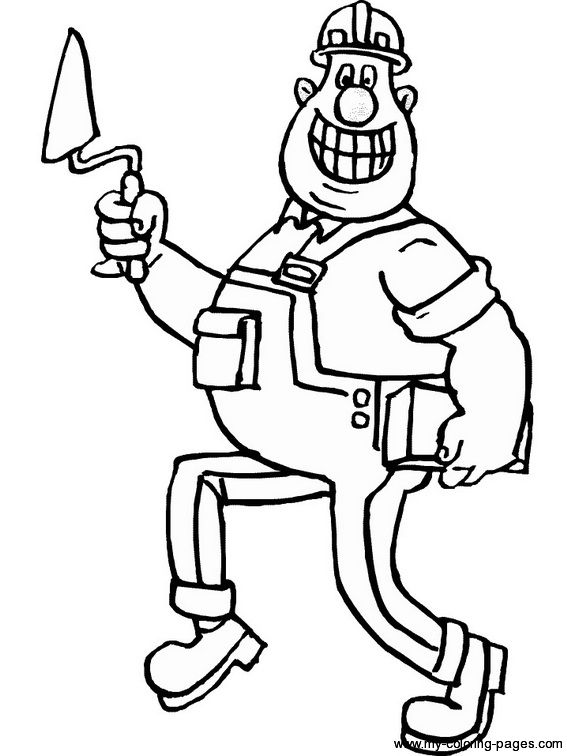 Construction Coloring Pages Coloring Pages Coloring Pages For Kids Coloring Book Pages