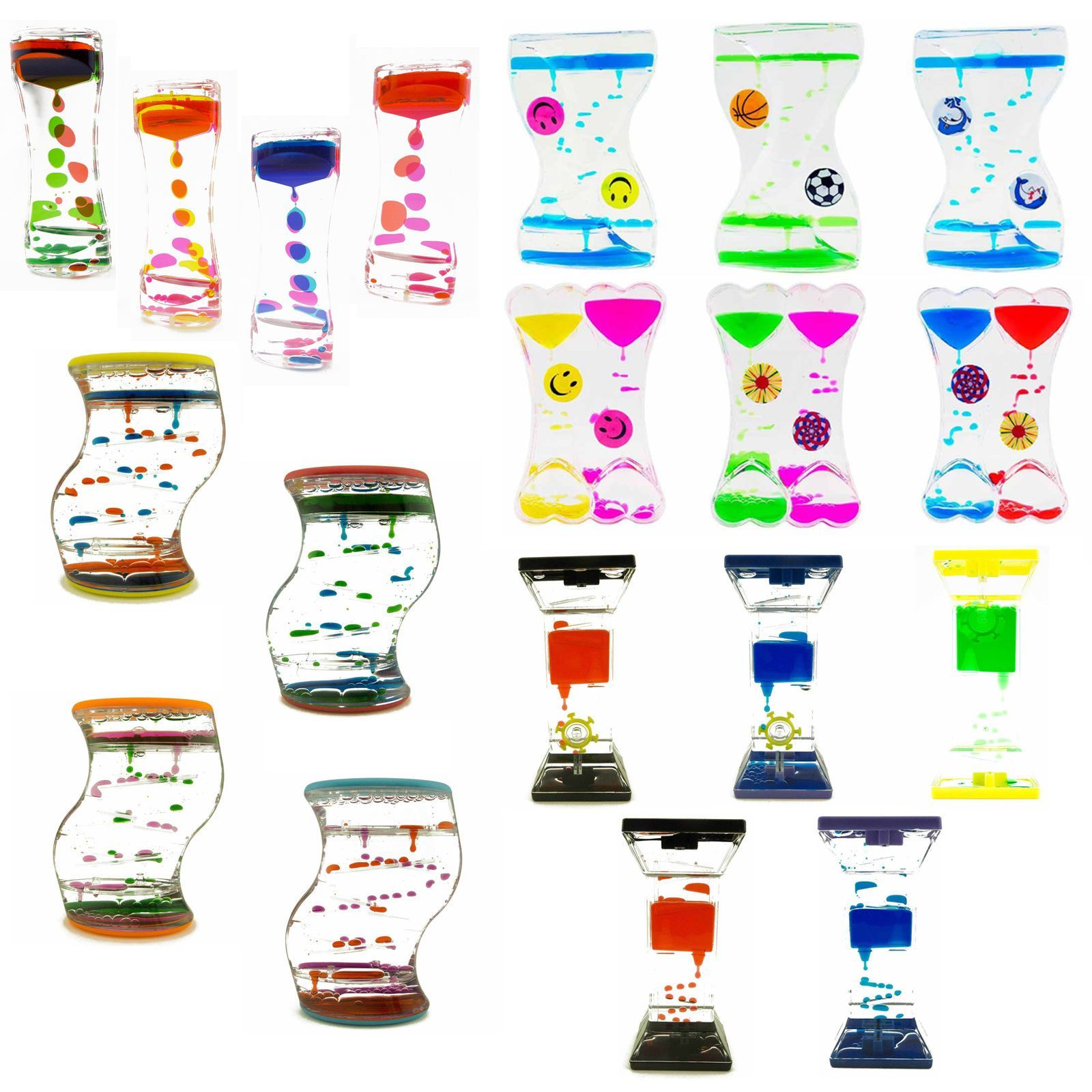 Colorful Liquid Lava Fid Timer Oil Clock Kids Toy Party