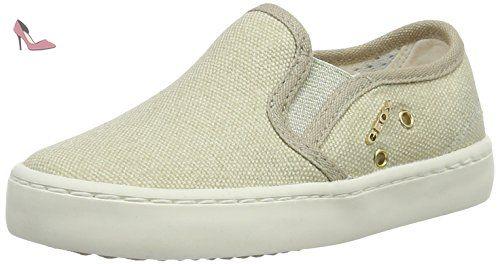 Geox Donna Euro D, Mocassins (Loafers) Femme, Blanc Cassé (Off Whitec1002), 41 EU