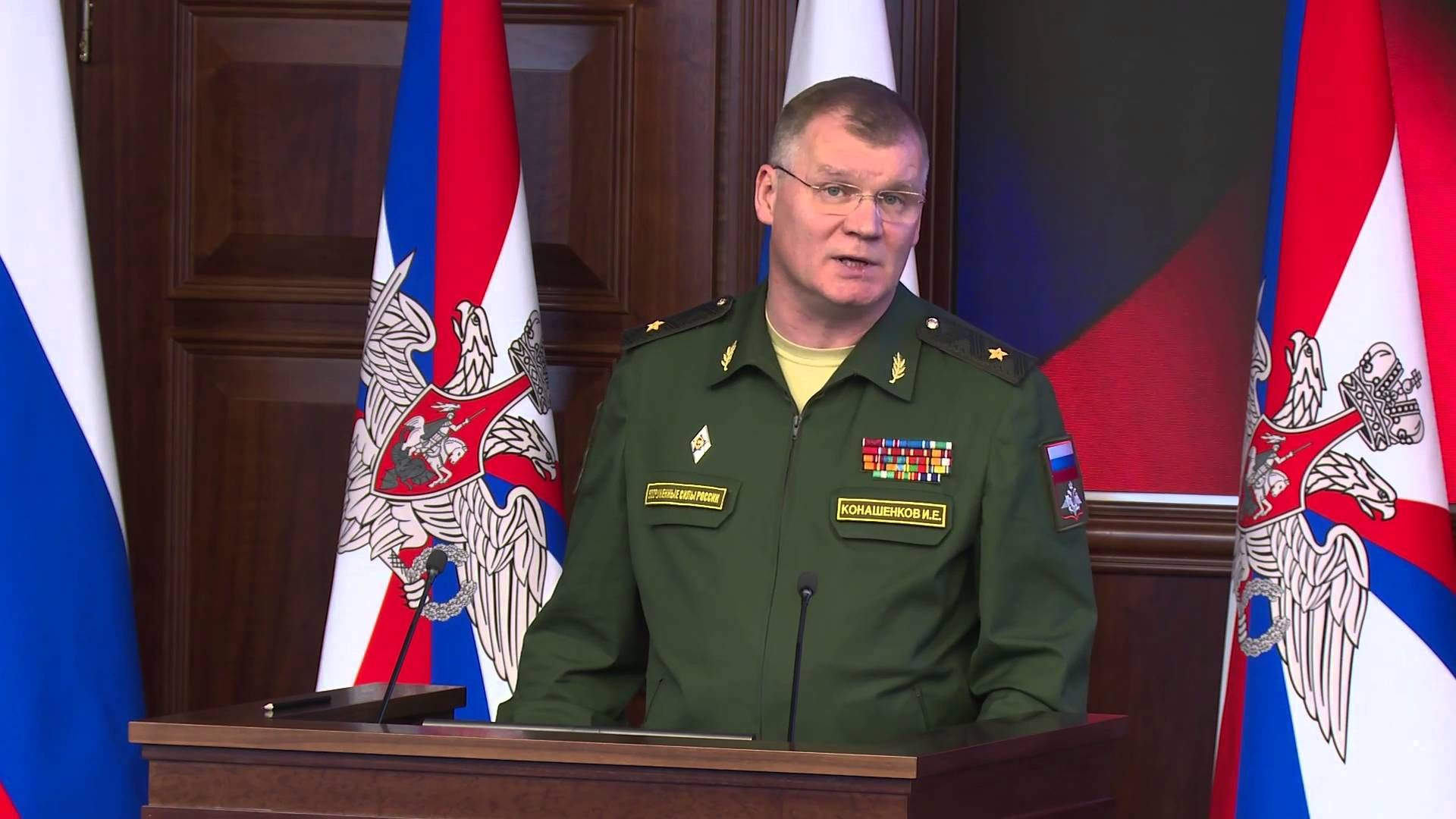 Syria Ceasefire 24 feb 2016 Russian Armed Forces General