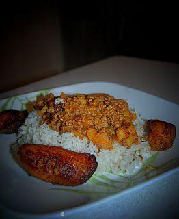 Rice with picadillo puertorican easy dish made with groundbeef rice with picadillo puertorican easy dish made with groundbeef and potatoes in great seasoning forumfinder Gallery