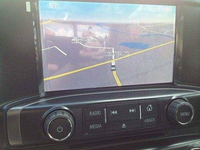 Latest Chevrolet Silverado Genuine Navigation System Chevrolet