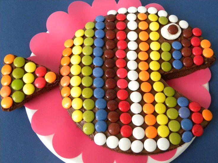 7 TARTAS PARA CUMPLEAÑOS INFANTILES - pez pacman | cakes | Pinterest ...