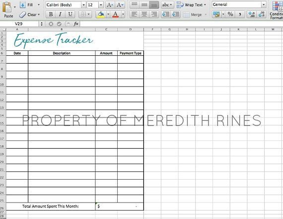 expense tracker excel spreadsheet expense tracker bill tracker
