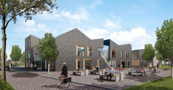 Cultureel Centrum De Berchplaets Te Berghem Cultureel Centrum Architecten