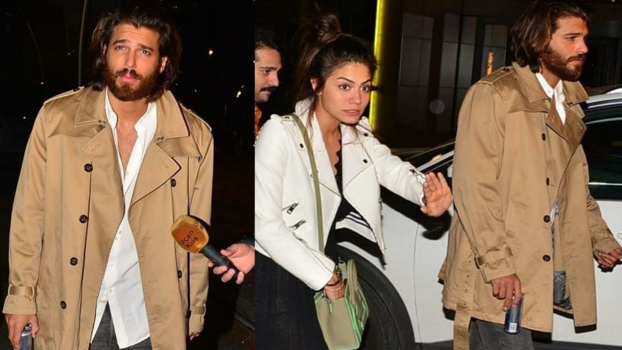 DRUNK Can Yaman With Demet Özdemir Spotted At Friends Birthday | can