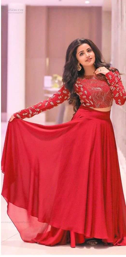 31a8323968 Anupama Parameshwaran for the promotions of movie Vunnadhi okate Zindagi # redskirt #anupamaparameswaran