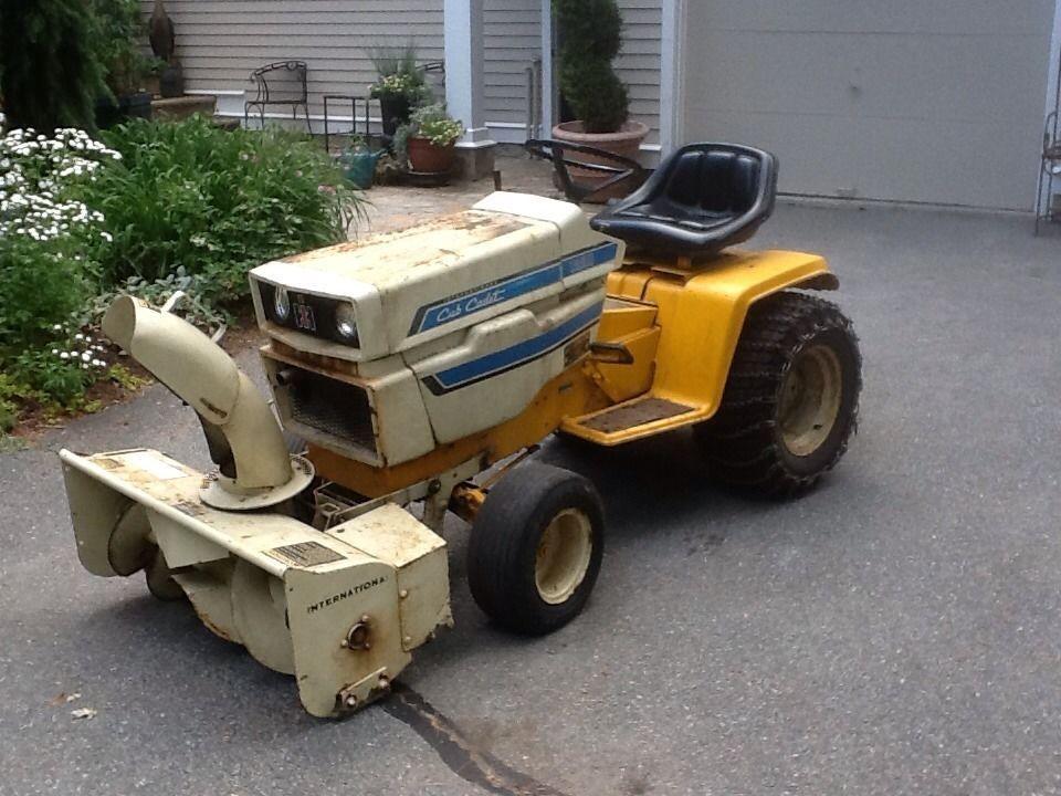 1975 14hp international harvester 1450 cub cadet garden tractor #cubcadet