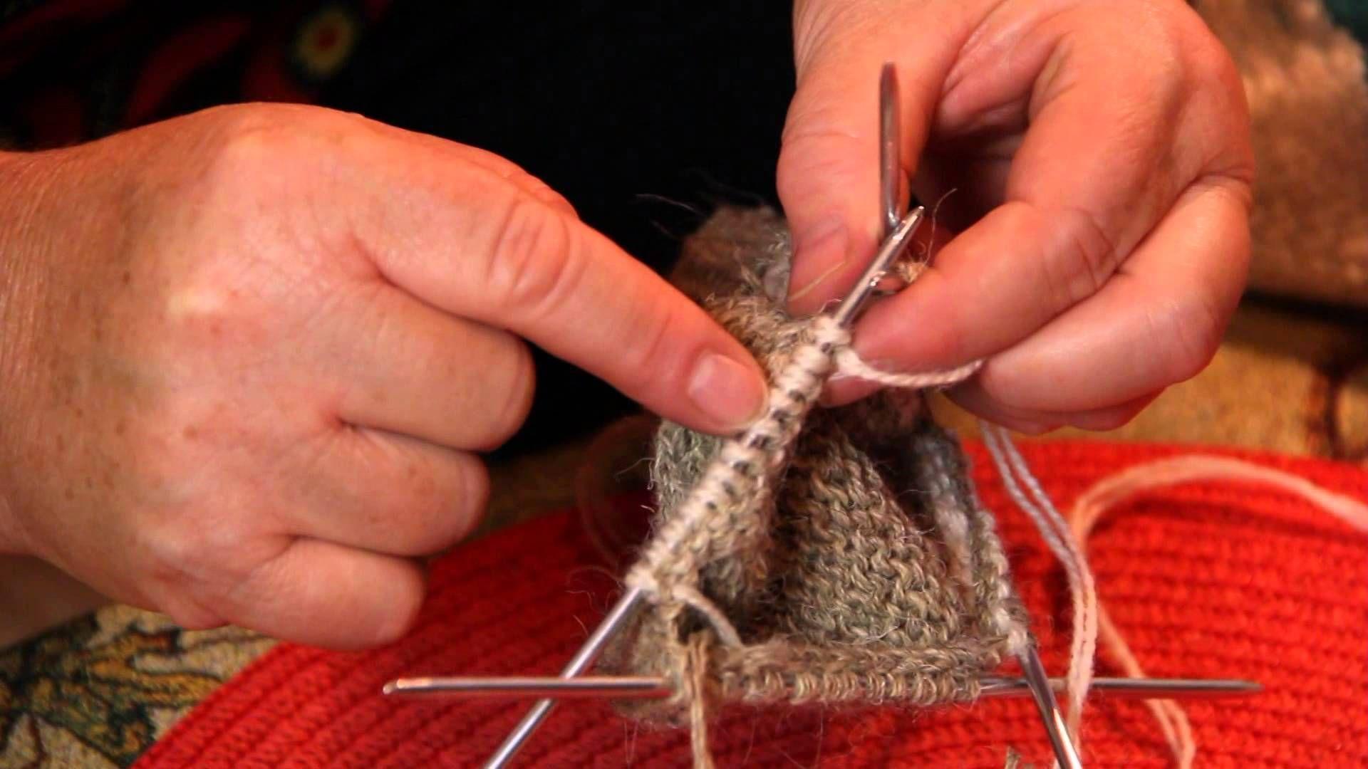 как вязать носки спицами после пятки урок 5 носки носки