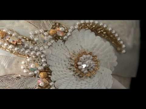 FLAMBOYANCE Corinne MEUNIER Broderie Haute Couture - YouTube