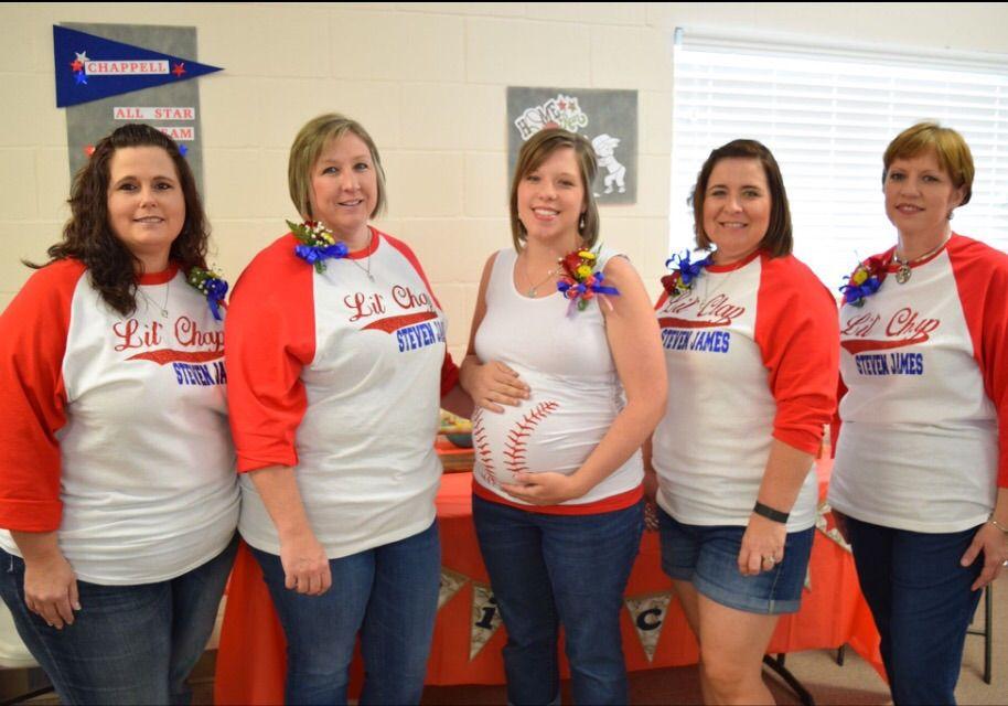 Baseball Maternity Shirt Halloween Baseball Baby Bump Tank Top Or