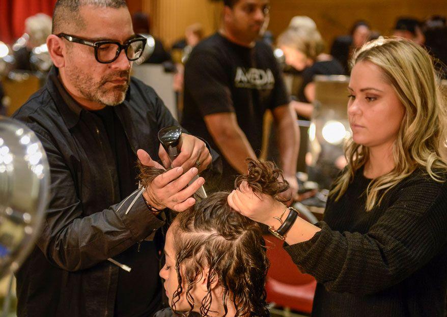 The Highly Pregnant Hairdresser