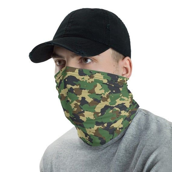 Sonojie Unisex Rave Bandana Neck Gaiter Tube Headwear for Women Men Face Scarf Balaclavas