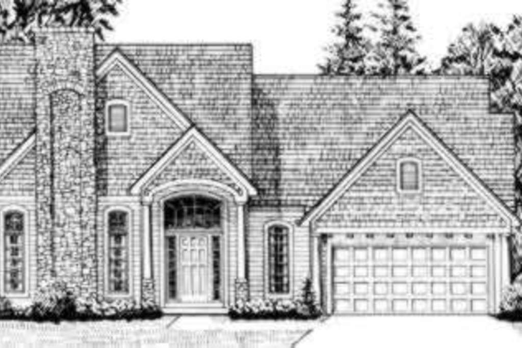 Houseplans.com Front Elevation Plan #46-149 @Twyla Gabbard