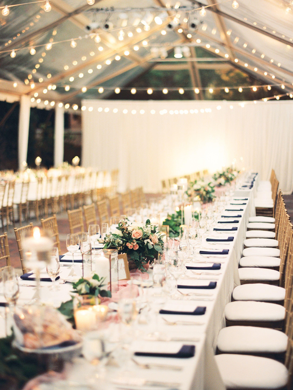 Outdoor Tent Wedding Beautiful Romantic Wedding Flowers By La Rue