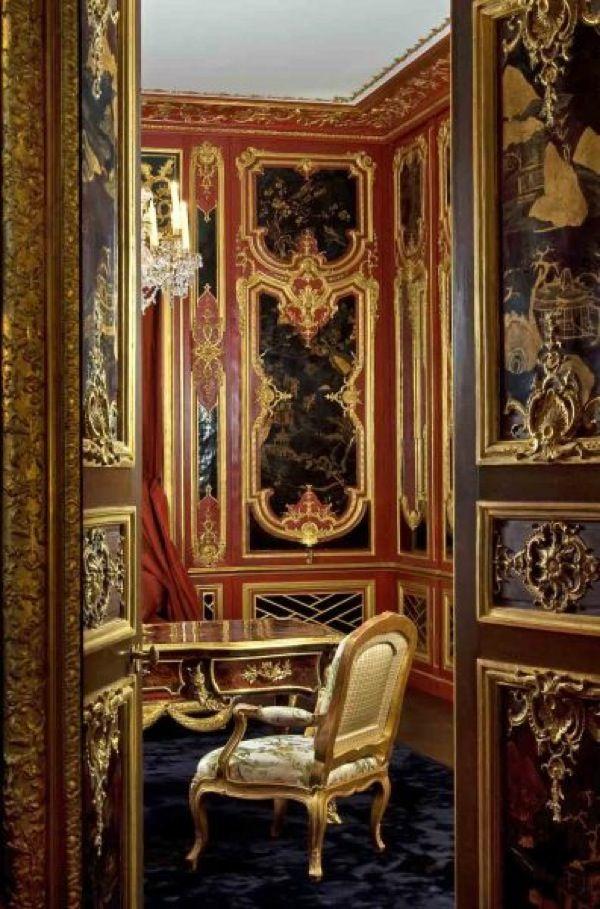 Fau  Cie Boiserie  Louis XV style Rococo  Decor Interior Wood paneling