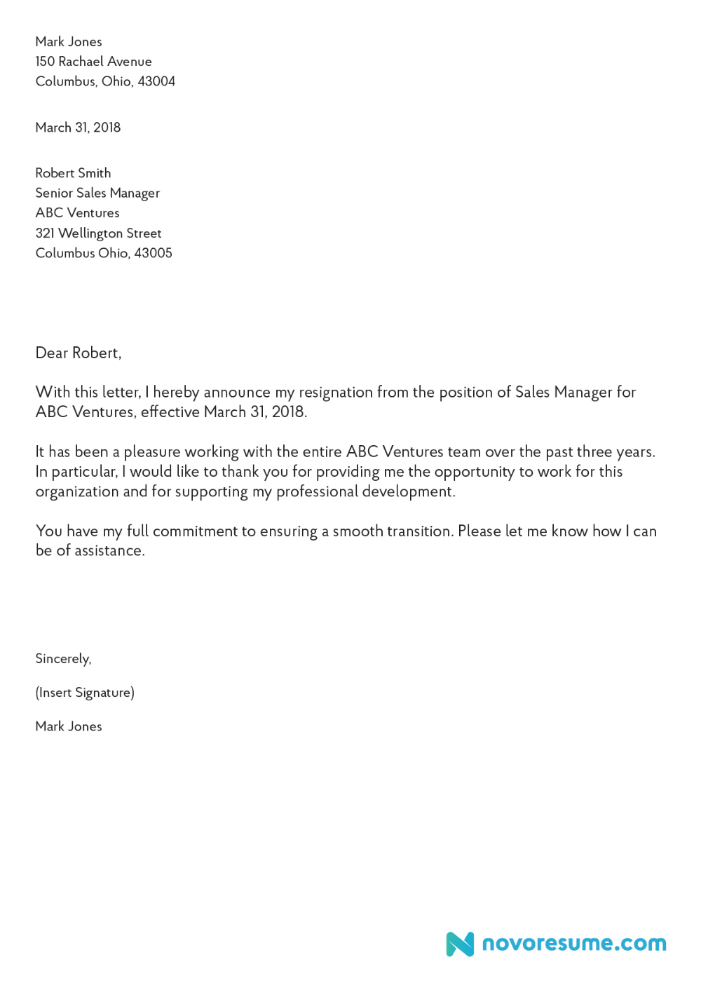 How To Write A Letter Of Resignation Extensive Guide
