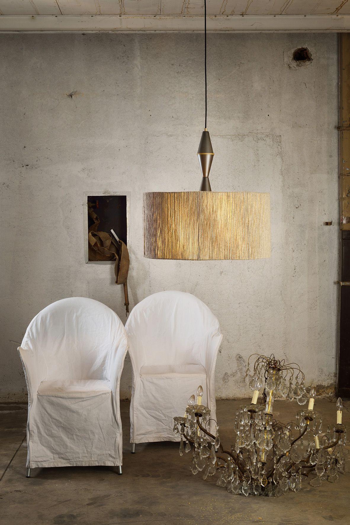 La serie di lampade a sospensione in terracotta #novecento by ...
