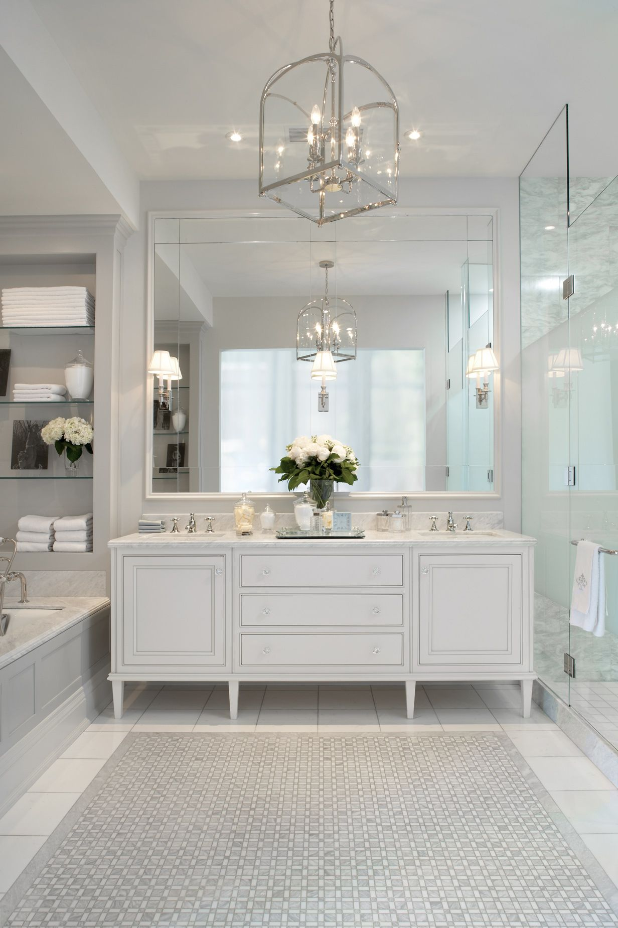 This Vanity Is Larger Than Ashley S But The Sconces