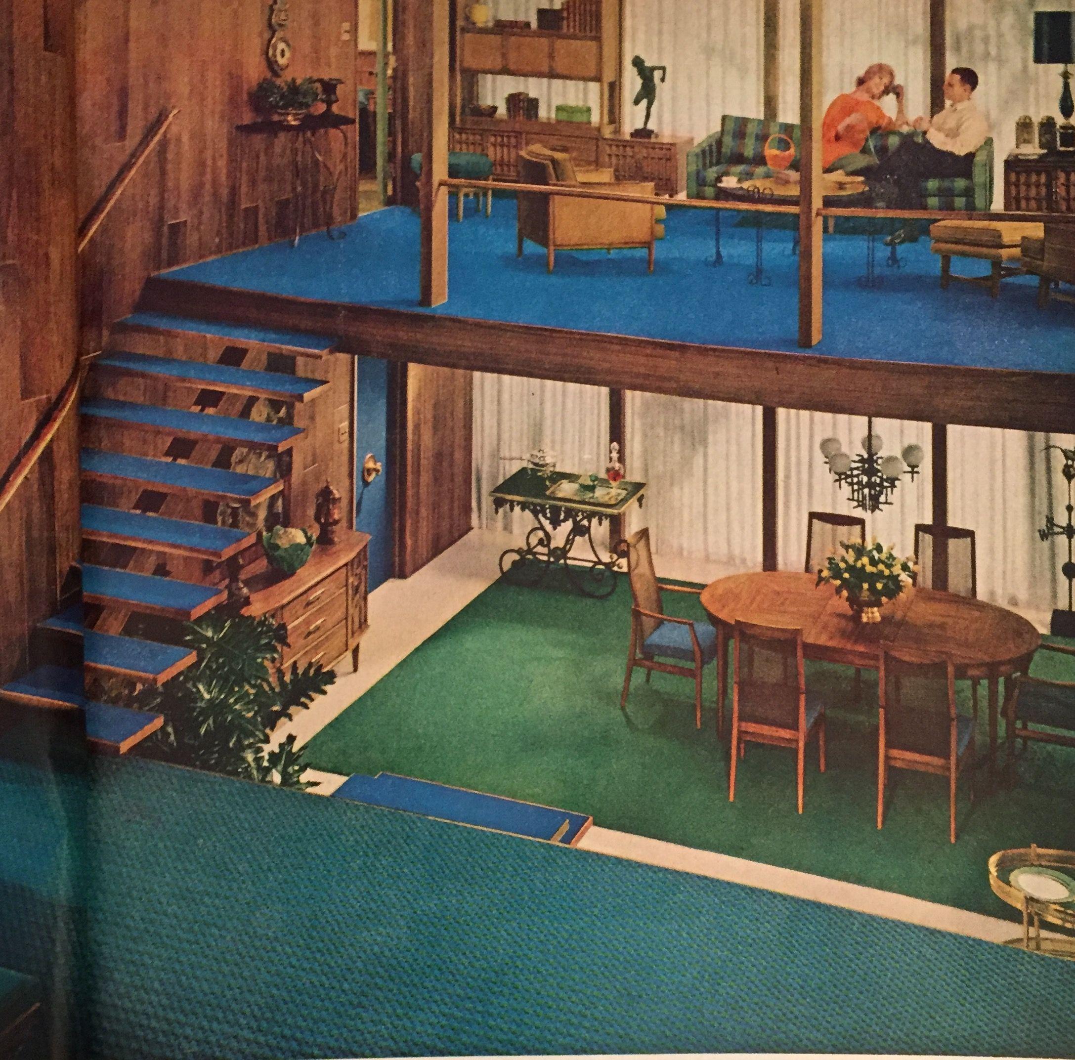 Modern Interior Design Magazine: Good Housekeeping Magazine October 1962
