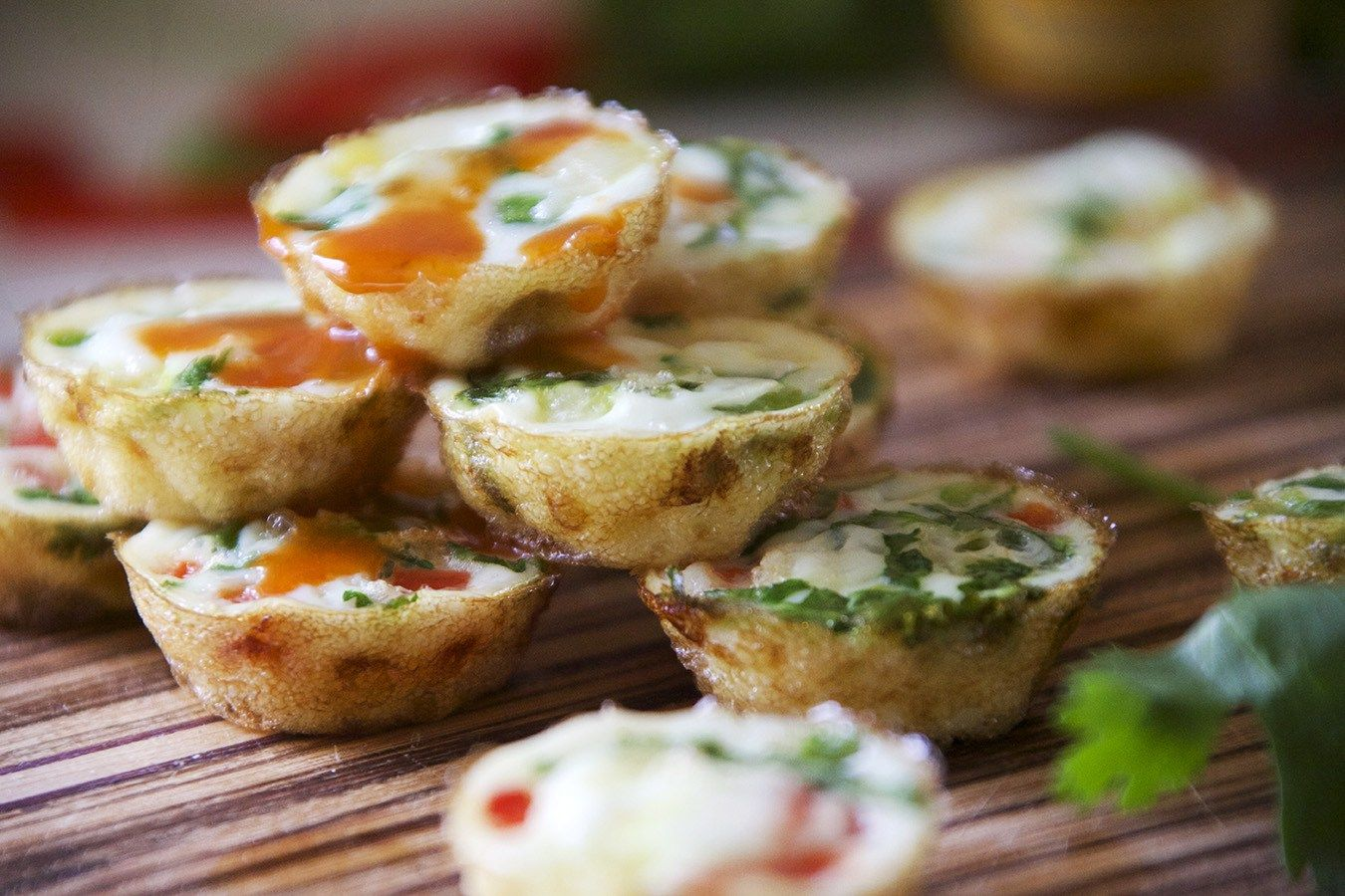 Mexican Style Egg White Poppers