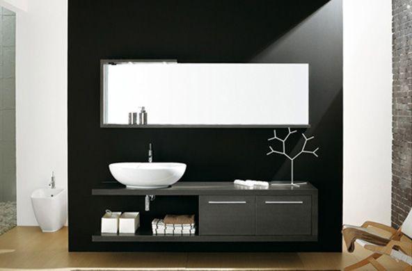 Bagni Moderni su Pinterest  Design Per L'interno Del Bagno, Bagno Interno e Decorazione Di Bagni