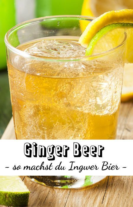 Ginger Beer selber machen - so geht's| LECKER #kombuchaselbermachen
