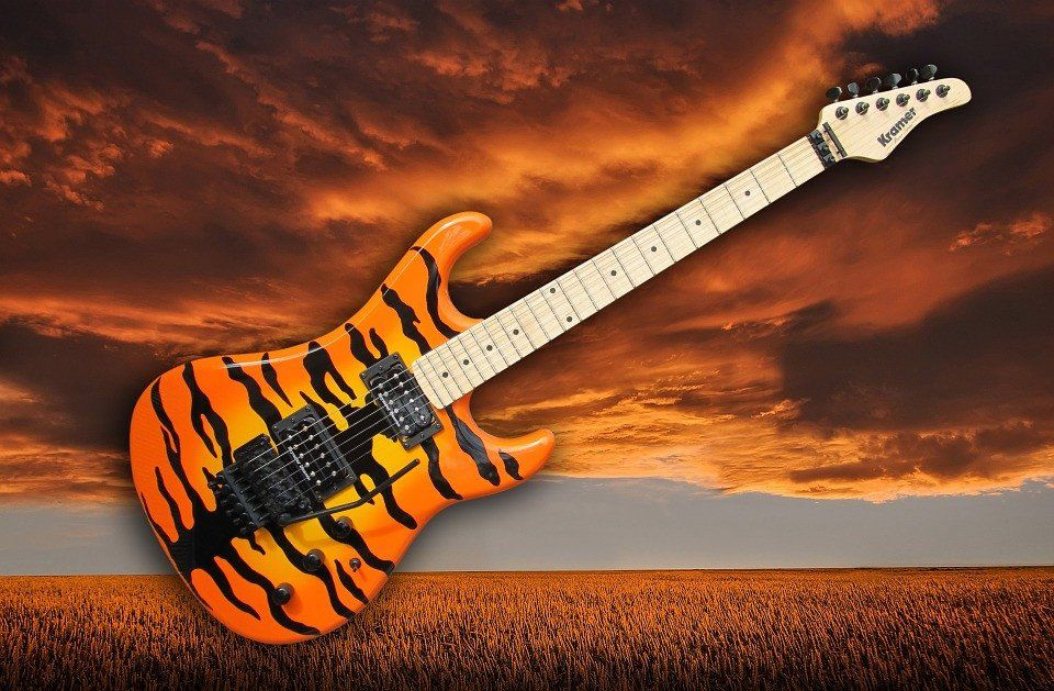 The crafting of a guitar is an art form, but sometimes designers can miss the mark. Below, are examples of some of the most bizarre guitars the internet has to offer.   1. Kramer  (Photo credit: bremslaeufer/Pixabay) Looks like this one belongs to Tony the Tiger. 2. Copacabana Guitar by Eero Aarnio   (Photo credit: régine debatty/Flickr) The color is a hideous green, and the body reminds me of the Mircosoft Windows 7 logo.  3. Custom Guitar    (Photo credit: wetwebwork/Flickr) ...