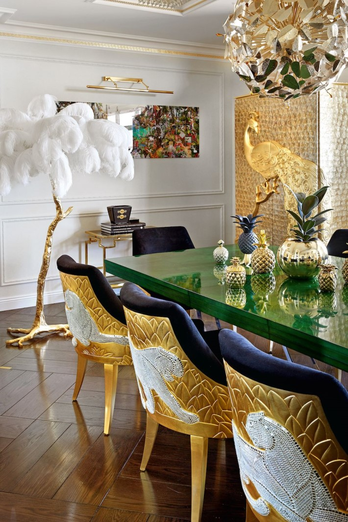 whimsical luxury interior filled with eye candy by mironova design also rh pinterest