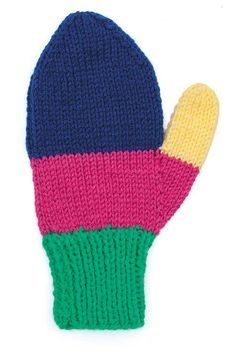 Quick and Easy Mittens in 2020 (With images)   Mittens ...