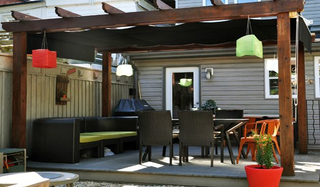 Four tips to create the complete small outdoor space ... on Complete Outdoor Living id=28790