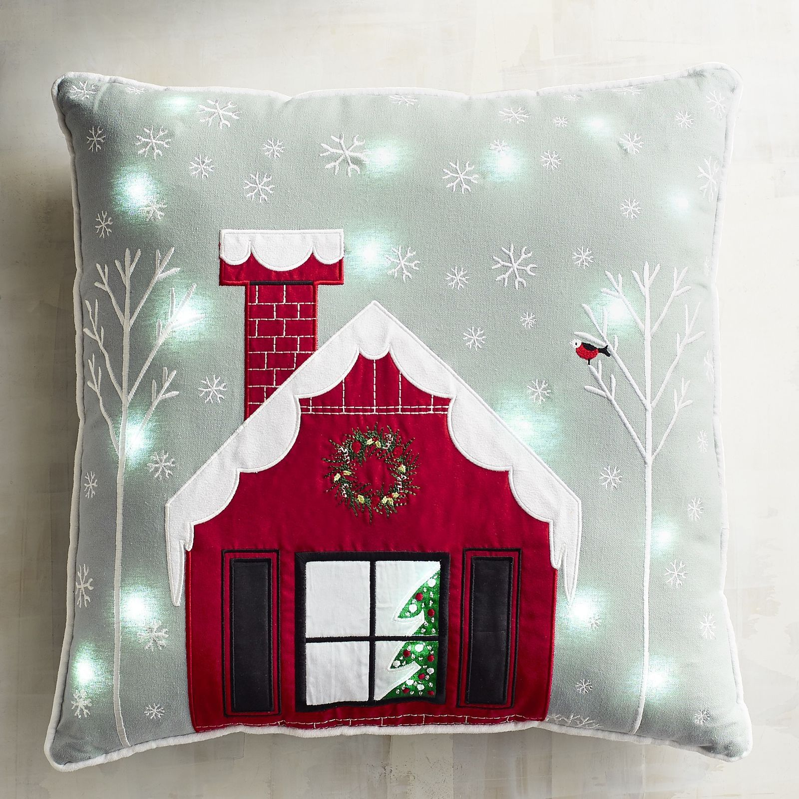 Image result for light up christmas pillow pier 1 | Merry ...