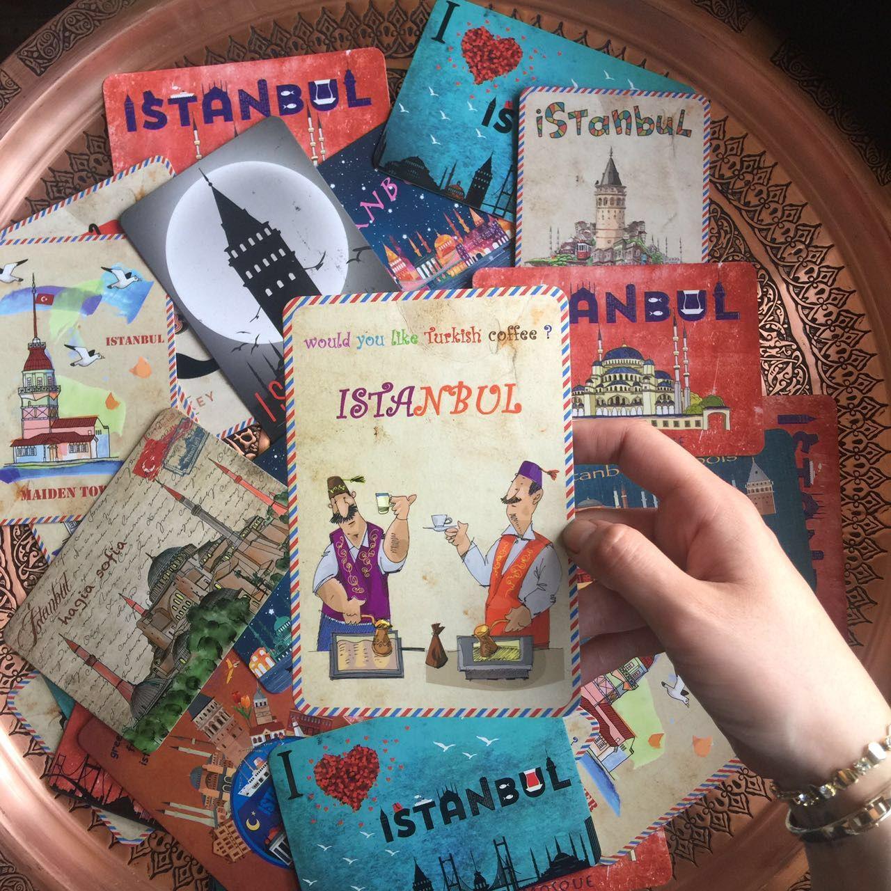Istanbul Post Cards via Grand Bazaar Shopping, www.grandbazaarshopping.com Post cards