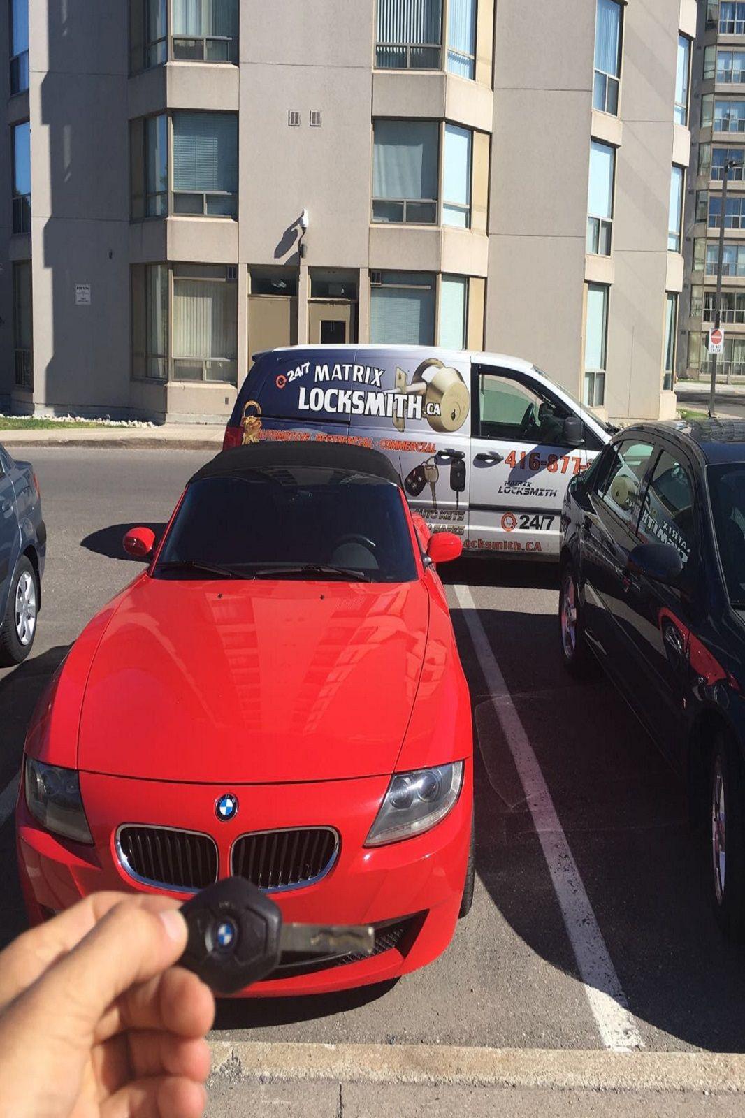 Bmw Emergency Key Replacement Torontolocksmith Toronto