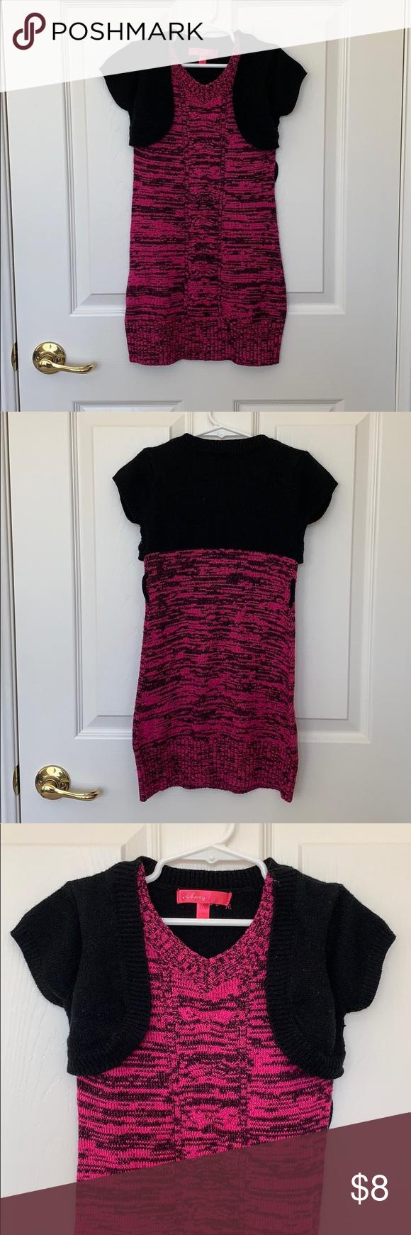 Little Girl Sweater Dress Girls Sweaters Sweater Dress Red Sweater Dress [ 1740 x 580 Pixel ]