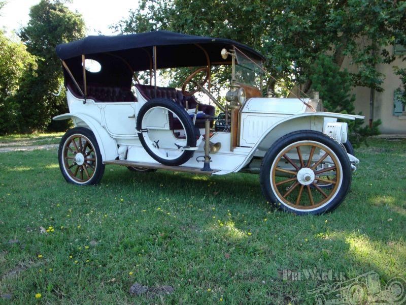 Darracq type RR double phaeton 1908 | Antiques & Classics ...