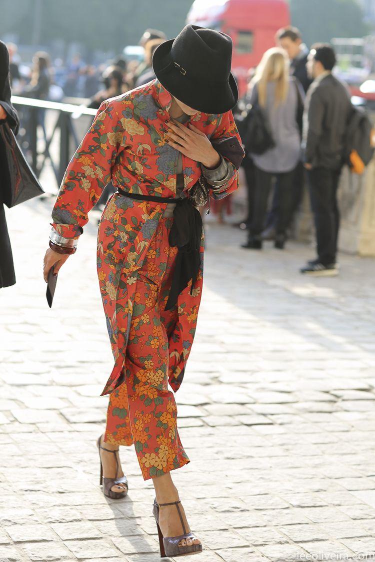 Catherine Baba Street Style Paris #fashion