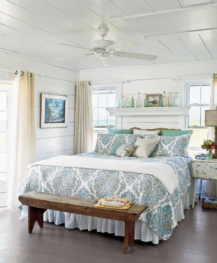 Beach Bedroom Decorating Coastal Beach Bedroom Decor Cottage