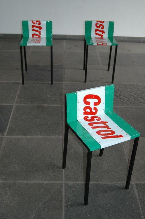 Merveilleux Oil Drum Chairs