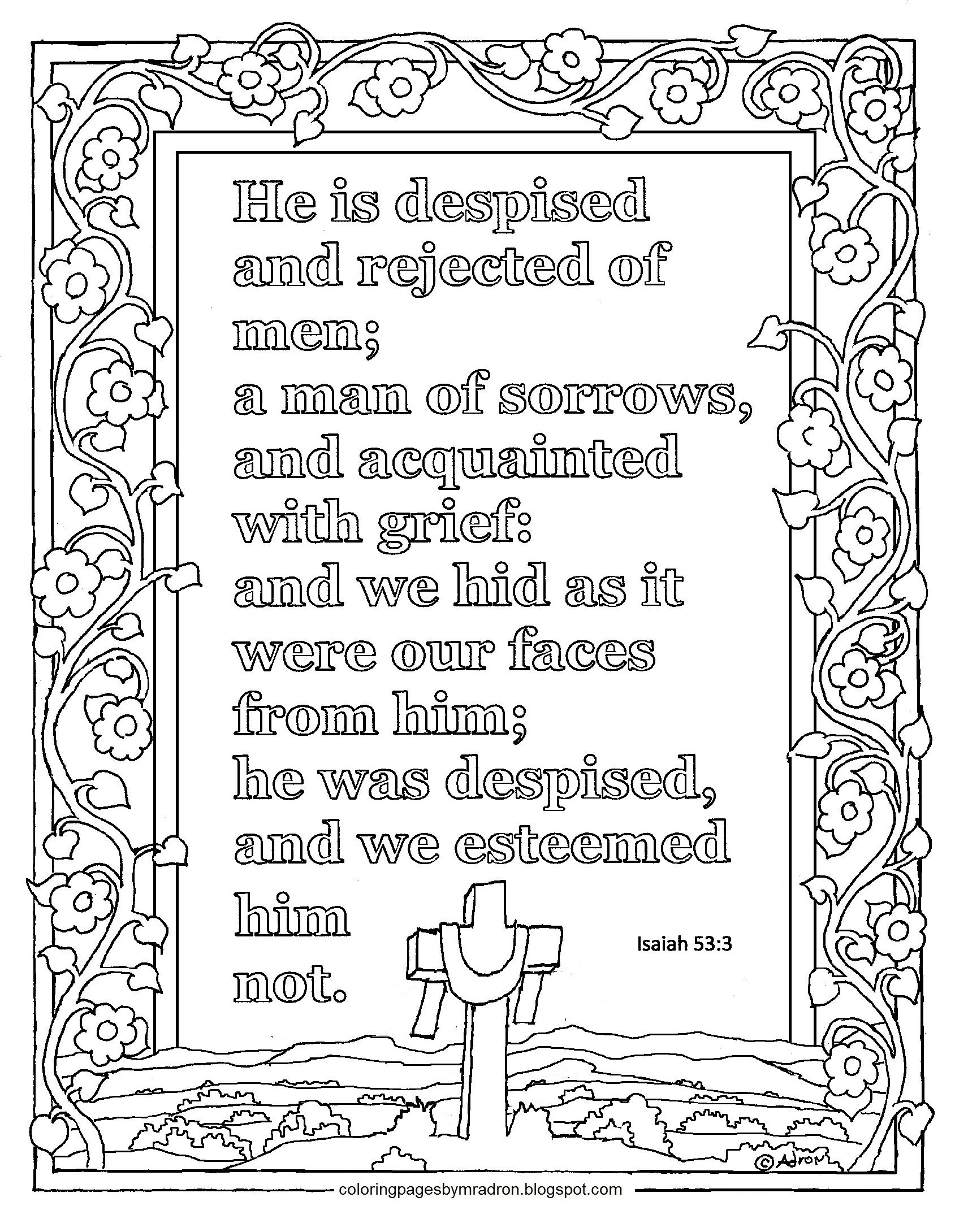 Lent Day 5 Devotional Print And Color Page With Scripture Coloring Pages Bible Verse Coloring Page Printable Coloring Pages