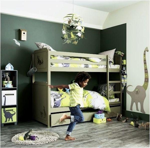 4 habitaciones infantiles de dinosaurios bungalow kids - Habitaciones tematicas infantiles ...
