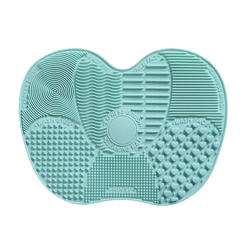 Foundation Make-Up Pinsel Wäscher Bord Silikon Make-Up Pinsel Reiniger Pad Machen Up Waschen Pinsel Gel Reinigung Matte Hand Werkzeug – 05,china