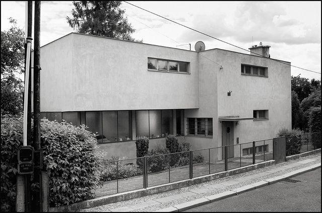 Mart Stam + Jiri Palicka @ Palicka Villa [1929-1932]   BaBa # 26 by d.teil, via Flickr