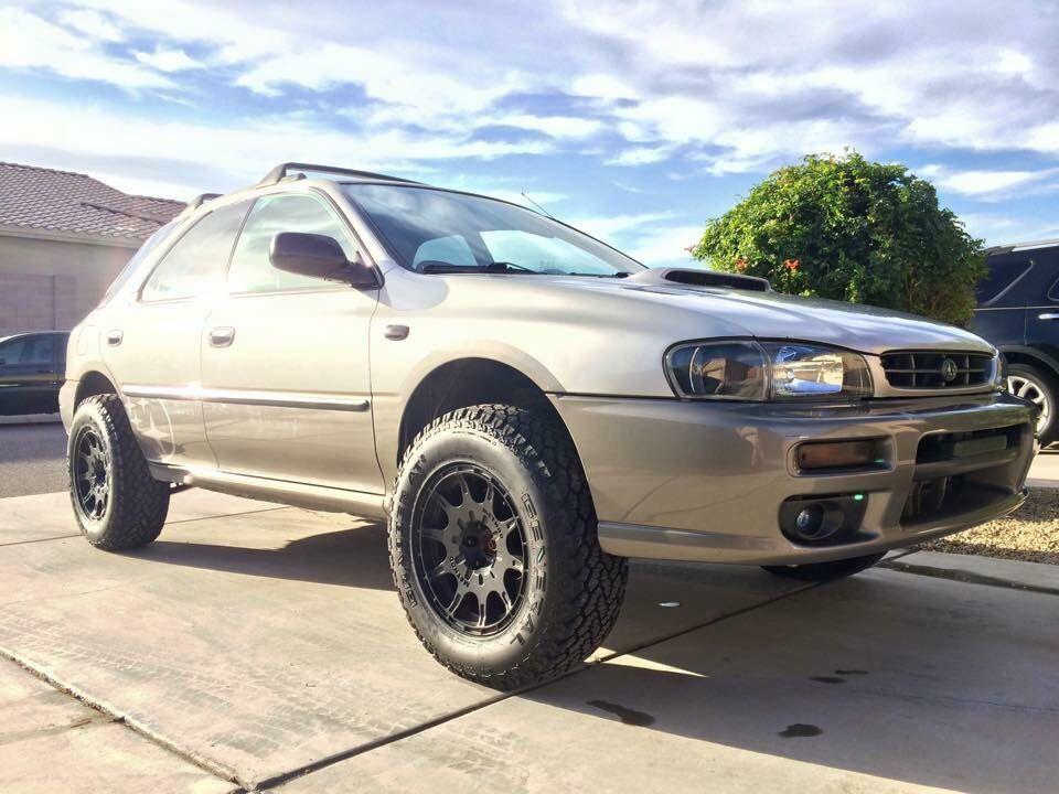 All Terrain Wrx Supported On Method Wheels Lifted Subaru Subaru Outback Offroad