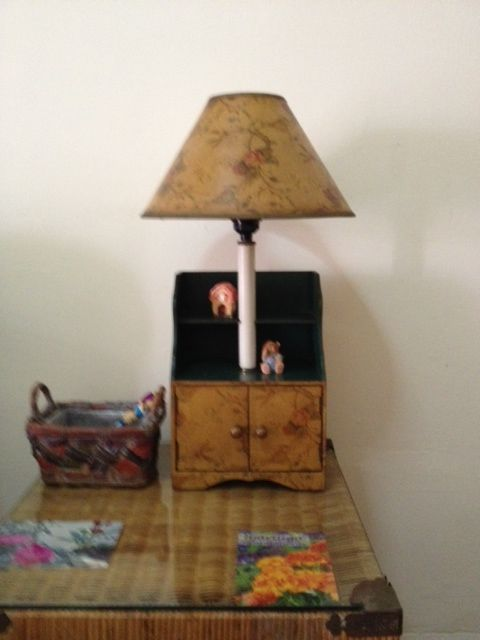 One of our lamp collection.