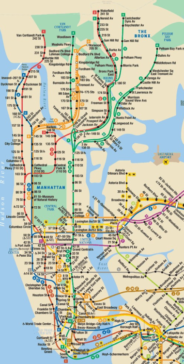 How To Read A New York City Subway Map.Sciencefriday Whats It Like To Read A Map From A Glance On